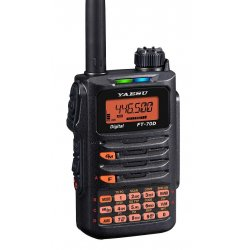 YAESU FT-70DE radiotelefon VHF/UHF cyfrowy C4FM + skaner 108-580MHz MADE IN JAPAN
